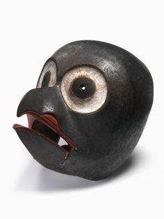 centuriespast:  Owl Mask Nisga'a (Niska) British Columbia 1850-1880 National Museum of the American Indian