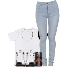 I Feel Like Making Sets For Yall.. Who Want One? by myia-nicole on Polyvore featuring polyvore, fashion, style, Cheap Monday and Maison Margiela