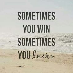 Lol, I have a lot of learning experiences and that is why I win... I kept going and never gave up. #soldbyfawnnc