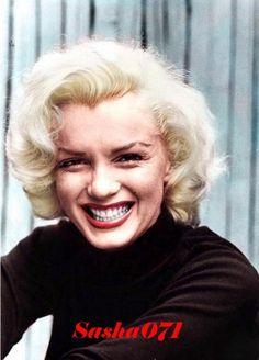 Marilyn Monroe Colorized By Sasha071