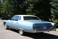 1976 CADILLAC DE VILLE 4 DOOR SEDAN - Barrett-Jackson Auction Company - World's Greatest Collector Car Auctions