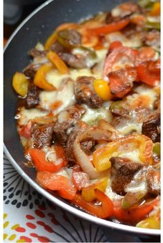 Philly Steak And Cheese Cooked In A Skillet. Classic steak dishes made simple. Daily simple recipes for everyone