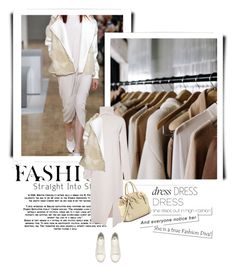 """""""dress in white"""" by ozlem-ozcanb ❤ liked on Polyvore featuring TIBI, H&M and Ciel"""