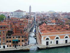 giudecca canal, venice, italy
