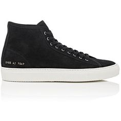 Common Projects Men's Tournament Suede Sneakers