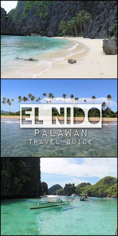 Looking for Paradise in the Philippines? El Nido could be it -- this area, on the island of Palawan, has some amazing scenery and perfect white sand beaches.