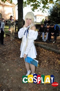 Chii Cosplay from Chobits in LUCCA COMICS AND GAMES 2012 Italy