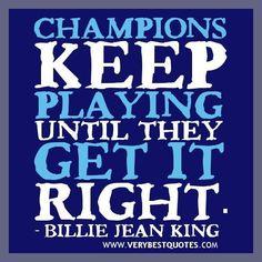 Motivational quotes champion quotes