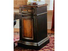 "Hooker Furniture Living Room Preston Ridge Hall Chest SKU 864-50-109   Width 13 "" Depth 17 "" Height 24 1/4 """