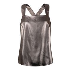 Buy the Mecka Metallic Cami at Oliver Bonas. Enjoy free worldwide standard delivery for orders over £50.