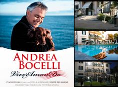 """Architettura Sonora was delighted to give its contribution to the amazing """"Viver AmanDo"""" fundraising event organized by the """"Andrea Bocelli Foundation"""" at Villa Alpemare in Forte dei Marmi on August 17th. Andrea Bocelli opened his own house to almost 1.000 guests to raise awareness and funding to support the two project his Foundation is involved in Haiti.  Once again we join the chorus """"BRAVO BRAVO BRAVO MAESTRO!!""""  http://www.andreabocellifoundation.org"""