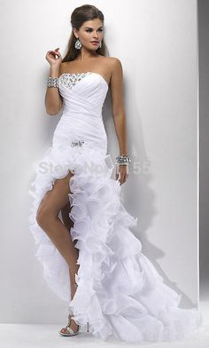 Cheap wedding dress short front, Buy Quality short front directly from China vestidos de novia Suppliers: Sexy White Wedding Gowns Elegant Wedding dresses Short Front Long Back Vestidos De Novia 2016 New robe de mariage Weddingdress Wedding Dress 2013, White Wedding Gowns, Sexy Wedding Dresses, Bridal Dresses, Ivory Wedding, Elegant Wedding, Gown Wedding, Perfect Wedding, Maternity Wedding