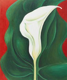 b22-design: Georgia O'Keeffe, Single Calla Lily (Red), 1923 http://25.media.tumblr.com/c7890456b5c96b6ca8bbc10f640a2167/tumblr_mlwyuctDtP1rwkvi9o1_500.jpg