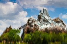 Watercolor Everest