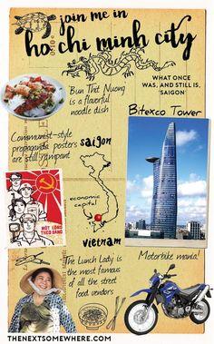 Whereabouts Ho Chi Minh City Vietnam Saigon