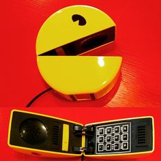 Power up with this sweet Pac-Man telephone! . . . . #pacman #telephone #touchtone #phone #wakkawakka #retrogaming #8bit #arcade #atari #blinky #inky #pinky #clyde #videogames #gaming pdxvintage #vintagepdx #vintageportland #portlandvintage #beaverton #curiositiesvintage #getcurious