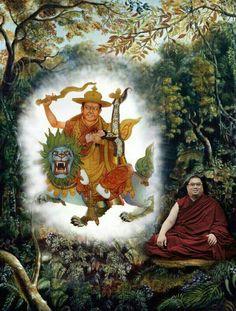This Deity confers powerful #wisdom & protection  #zen #newage #blessings #buddha #buddhism #dalailama #tibet #india #tibet #tibetan