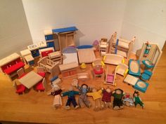 Great Lot Plan Toys Wooden Dollhouse Furniture Ryans Room Bathroom Living Room  Family #PlanToys