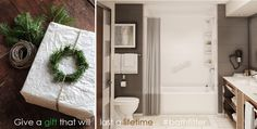 Give a gift that will last a lifetime... #bathfitter #merrychristmas