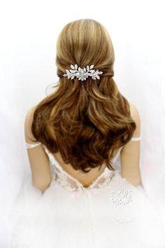 Strass Haarclip Haarklammer Haarspange Haarschmuck Haar