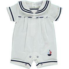 Blue & White Sailor Body Suit