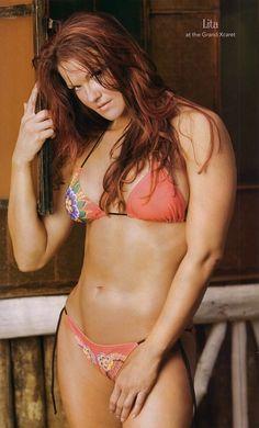 Former WWE Diva Lita aka Amy Dumas