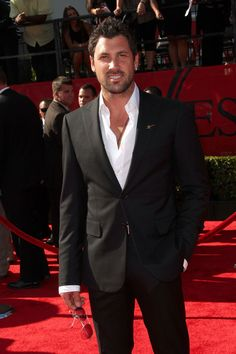 Maksim Chmerkovskiy.     Had a very pleasant dream last night with him and his brother.