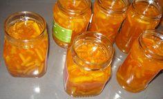 orange jam  gem de portocale Pickling, Preserves, Salsa, Food And Drink, Jar, Canning, Confidence, Chow Chow, Preserve