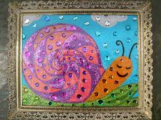 Snail Dreams by GlazyDaysandNights on Etsy,