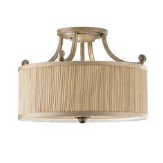Abbey Semi-Flush Light - Elstead Lighting - Netlighting Ltd