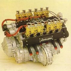 Lamborghini V12 Engine