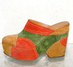 These clogs are so '70s. So from my generation.