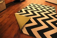DIY rug. Perfect because rugs are freakin' expensive!!!h
