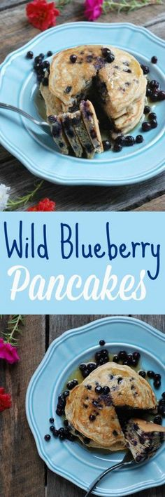 Wild Blueberry Pancakes - Real Mom Nutrition