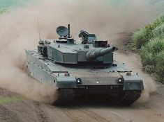I gotta drive one of these !  | The Type 90 Main Battle Tank