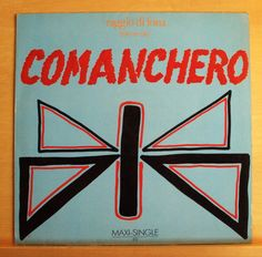 RAGGIO DI LUNA (Moon Ray) Comanchero Vinyl 12  Maxi Non LP Tracks 2 Versions RAR