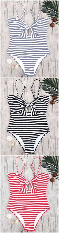 Up to 80% OFF! Striped Knot Cut Out One Piece Swimsuit. #Zaful #Swimwear #Bikinis zaful,zaful outfits,zaful dresses,spring outfits,summer dresses,Valentine's Day,valentines day ideas,cute,casual,fashion,style,bathing suit,swimsuits,one pieces,swimwear,bikini set,bikini,one piece swimwear,beach outfit,swimwear cover ups,high waisted swimsuit,tankini,high cut one piece swimsuit,high waisted swimsuit,swimwear modest,swimsuit modest,cover ups @zafulbikini Extra 10% OFF Code:zafulbikini