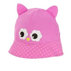 7729d4595c5 Baby Toddler Girls  Critter Sun Bucket Hat