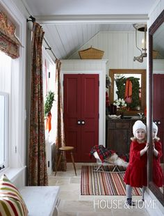 Welcoming Mudroom | Photo Gallery: Sarah Richardson's Holiday House | House & Home | Photo by Michael Graydon