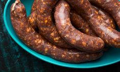 A recipe for spicy Italian sausage. I make hot Italian sausage from wild or store-bought pork. This recipe has red pepper, garlic, paprika and fennel seeds. Spicy Italian Sausage Recipe, Grilled Italian Sausage, Italian Sausage Sandwich, Homemade Sausage Recipes, Homemade Breakfast Sausage, Sausage Pasta Recipes, Italian Sausage Recipes, Hot Sausage, Sweet Italian Sausage