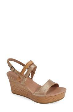 UGG® Australia 'Lira' Wedge Sandal (Women) available at #Nordstrom