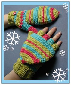 Crochet pattern for lace gloves. - Crafts - Free Craft Patterns
