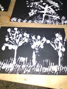 Pintando sin pinceles