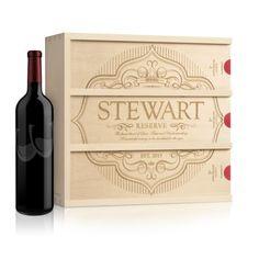 Anniversary Wine Box, Label of Love