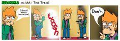 EWCOMIC No. 188 - Time Travel by eddsworld