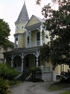 Victorian residence on St. Charles Avenue, New Orleans...Avenue Inn Bed & Breakfast