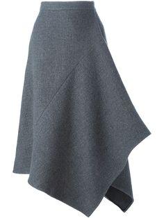 Shop stella mccartney asymmetric skirt in maria store dubrovnik croatia Skirt Pants, Dress Skirt, Moda Chic, Asymmetrical Skirt, Mode Inspiration, Stella Mccartney, Ready To Wear, Fashion Dresses, My Style