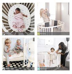 whimsical, welcoming #white  - Stokke Sleepi Convertible Crib