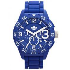 Adidas Originals Mens Blue Newburgh Watch