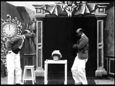 The Triple Conjurer and the Living Head (1900) - Georges Melies | Méliès splits into 2 versions of himself, after which point the doppelganger interacts with the original (or is it vice versa?). A living, bodiless-head is produced and then turned into a full-bodied woman. Finally, the devil appears and ultimately reveals himself to be a 3rd Melies!